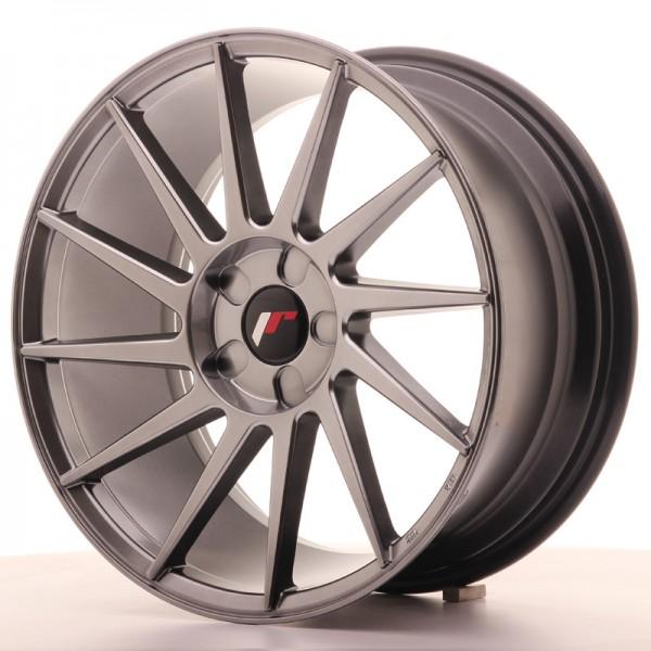JR Wheels JR22 18x8,5 ET40 5H BLANK Hyper Black