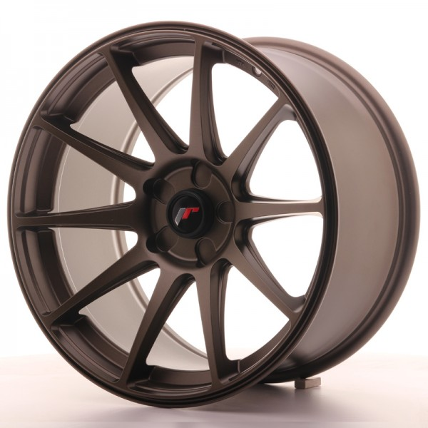 JR Wheels JR11 18x9,5 ET30 5H BLANK Dark Bronze